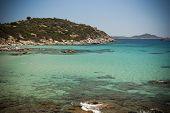 Sardinia. Villasimius.Porto Sa Ruxi bay