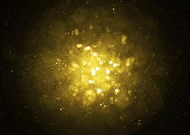 image of glitter sparkle  - Defocused gold sparkle glitter lights background - JPG