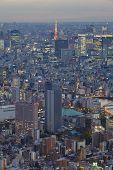 Tokyo at night view