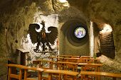 Gellert Hill Cave Church, Budapest, Hungary