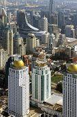 big city Bangkok with height