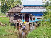 Farmhouse In Maubin, Myanmar
