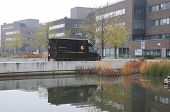 Brno,czech Republic-november 14,2014: Ups Delivery Vehicle In Spielberk Office Centre