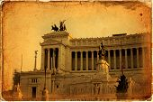 picture of altar  - National monument to Vittorio Emanuele II  - JPG