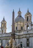 Church Sant'agnese In Agone, Rome