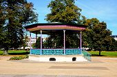 Imperial gardens bandstand, Cheltenham.
