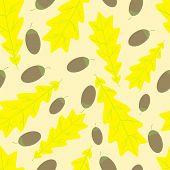Acorn And Oak Leaf Pattern