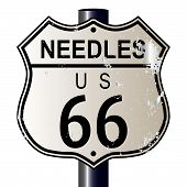 Needles Route 66 Sign