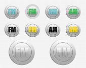 Fm Radio Icon. Am Radio Icon