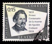 Portrait Of Agustin Codazzi