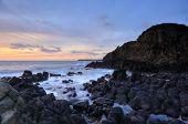 Volcanic Rocks Of Minamurra At Low Tide