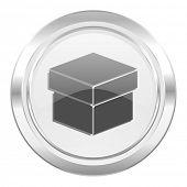 box metallic icon