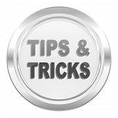 tips tricks metallic icon