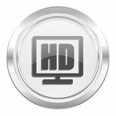 hd display metallic icon