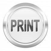 print metallic icon