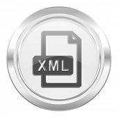 xml file metallic icon