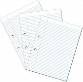 Three Sheets Of A4 Paper