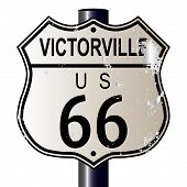 Victorville Route 66 Sign