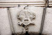 KOTOR, MONTENEGRO - JUNE, 10: Detail of grand gate of old town of Kotor, Montenegro on June 10, 2012