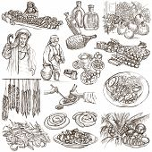 Food And Drinks - Full Sized Illustrations