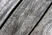 Wooden Plank Texture Detail Close Up