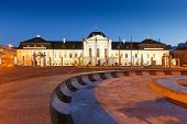 Presidential palace in Slovakia.