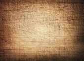 stock photo of cutting board  - Brown scratched wooden cutting board - JPG