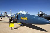 Blue Angel F-11F Tiger Fighter