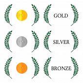 Laurel Wreath Medals
