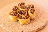 Bakarwadi, A Fried Spring Roll Snack, Popular In Maharashtra