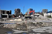 The Remains Of The Park Royal Hotel, Christchurch New Zealand
