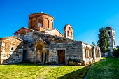 stock photo of albania  - Saint Mary church in Apollonia in Albania - JPG