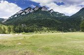 stock photo of pieniny  - The most known mountain in Pieniny Mountains - JPG
