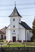 stock photo of chapels  - old village christian chapel or church in czech republic europe - JPG
