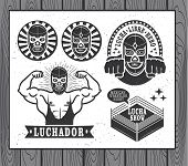 pic of mexican  - Mexican wrestler set - JPG