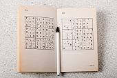 Sudoku Book And Pen