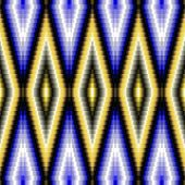 stock photo of compose  - Abstract decorative mosaic pattern composed of small angular tiles - JPG