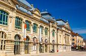 stock photo of municipal  - Cinema and Municipal theatre of Bourg - JPG