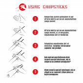 pic of traditional  - How to use chopsticks - JPG