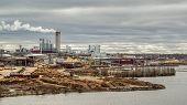pic of lumber  - Lumber Paper Factory in lappeenranta - JPG