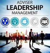 foto of responsible  - Adviser Leadership Management Director Responsibility Concept - JPG