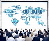 pic of coworkers  - Cooperation Business Coworker Planning Teamwork Concept - JPG