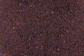 picture of coffee grounds  - Background ground coffee - JPG