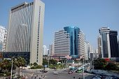 Chinese City Shenzhen