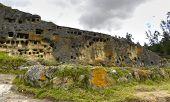 Ventanillas de Otuzco. Cajamarca. Peru.