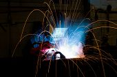 Welder Makes Steel Box
