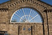 The Fan Window, Buxton Station