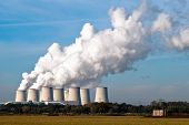 Power Plant Cooling Towers Across V3