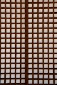 Closeup Of A Japanese Paper Screen Window (shoji)