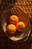 Oranges In The Wattled Bowl